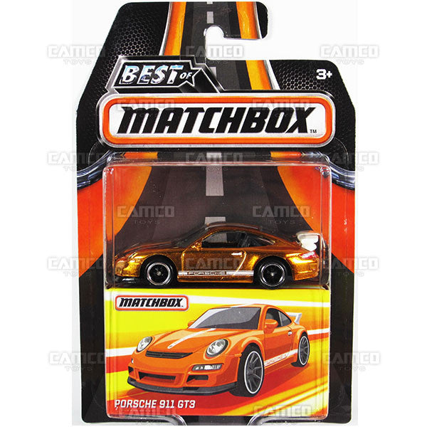 Porsche 911 GT3 - 2017 Matchbox (Best of Matchbox)