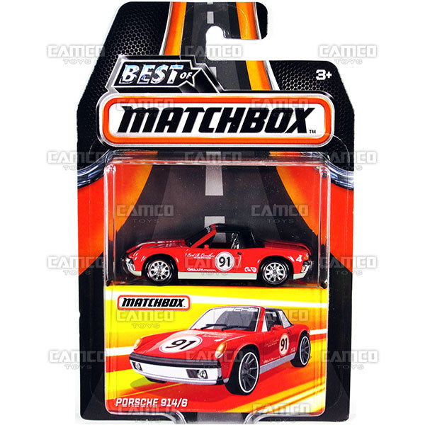 Porsche 914/6 - 2017 Matchbox (Best of Matchbox)