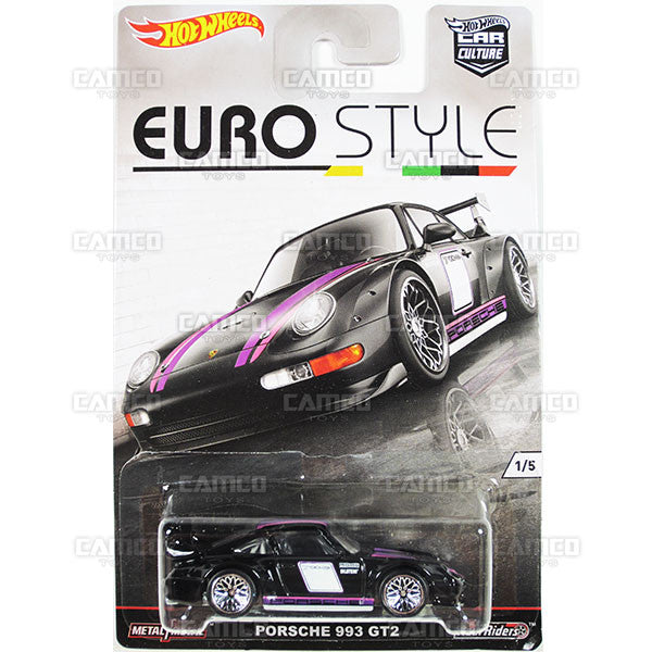 PORSCHE 993 GT2 - 2016 Hot Wheels (Euro Style)