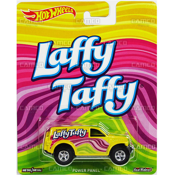 Power Panel (Laffy Taffy) - from 2017 Hot Wheels Pop Culture G Case (NESTLE/WONKA) Assortment DLB45-956G by Mattel.