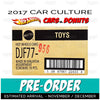 FACTORY SEALED case - 2017 Hot Wheels (Cars & Donuts) Pre-order November/December
