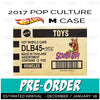 (PRE-ORDER) Factory Sealed SCOOBY DOO case of 12 - 2017 Hot Wheels Pop Culture M case assortment DLB45-956M by Mattel.
