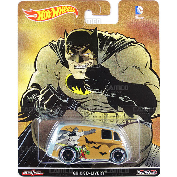 QUICK D-LIVERY - from 2016 Hot Wheels Pop Culture D Case (DC COMICS BvS) Assortment DLB45-956D by Mattel.