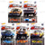SET OF 5 - 2017 Hot Wheels (HW Redliners)