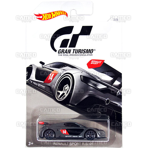 Renault Sport R.S. 01 - 2018 Hot Wheels GRAN TURISMO Case Assortment FKF26-999A by Mattel.