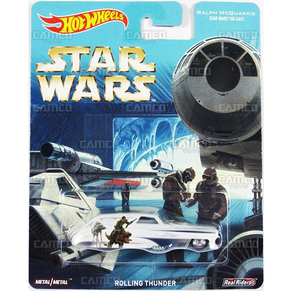 Rolling Thunder (Ralph McQuarrie) - from 2016 Hot Wheels Pop Culture F Case (STAR WARS) Assortment DLB45-956F by Mattel.