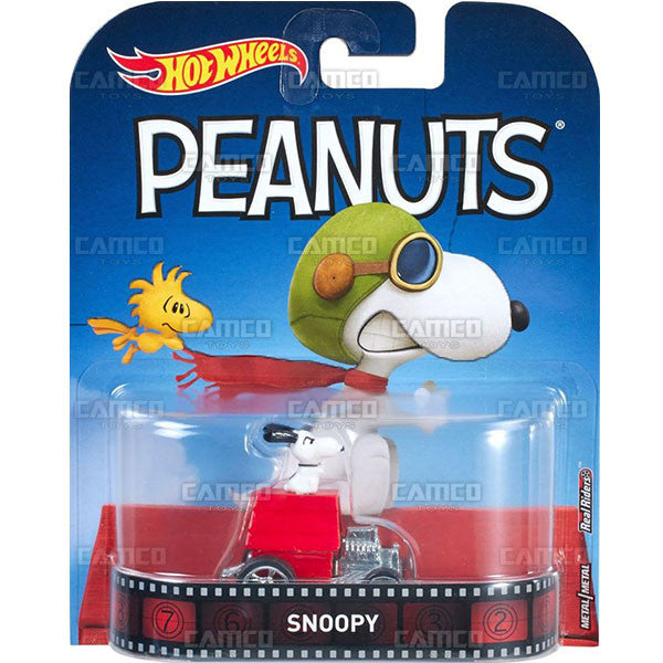 Snoopy Peanuts - 2017 Hot Wheels Retro Entertainment C Case Assortment DMC55-956C