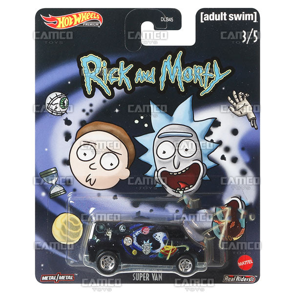 Super Van - 2020 Hot Wheels Premium Pop Culture G Case RICK and MORTY (Adult Swim) Assortment DLB45-946G by Mattel.