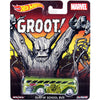 SURFIN SCHOOL BUS (Groot) - 2015 Hot Wheels Pop Culture D Case (MARVEL) Assortment CFP34-956D by Mattel.