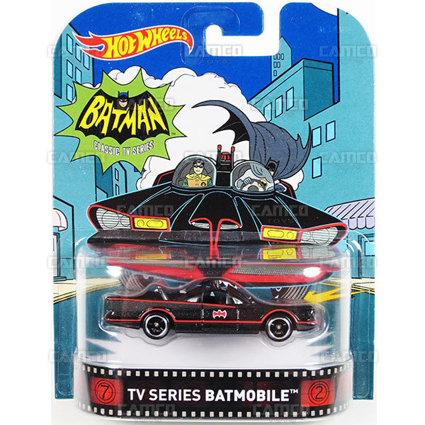 TV Series Batmobile (Classic TV Series) - 2016 Hot Wheels Retro Entertainment A Case DMC55-959A