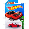 Tesla Roadster #241 red (HW Green Speed) - from 2016 Hot Wheels Basic A Case Worldwide Assortment C4982 by Mattel.