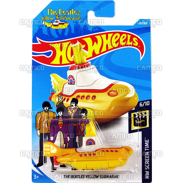 The Beatles Yellow Submarine #26 (HW Screen Time) - 2018 Hot Wheels Basic Mainline B Case Assortment C4982 by Mattel.