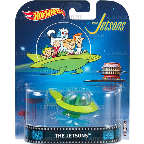 The Jetsons - 2017 Hot Wheels Retro Entertainment C Case Assortment DMC55-956C