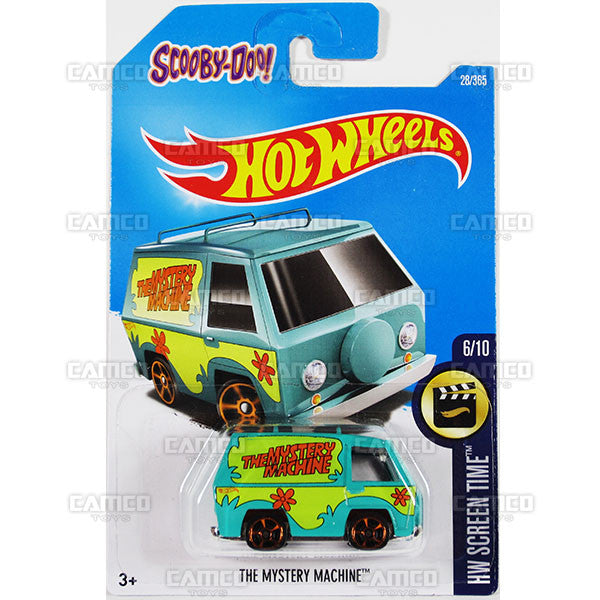 The Mystery Machine #28 Scooby Doo (HW Screen Time) - from 2017 Hot Wheels basic mainline B case Worldwide assortment C4982 by Mattel.