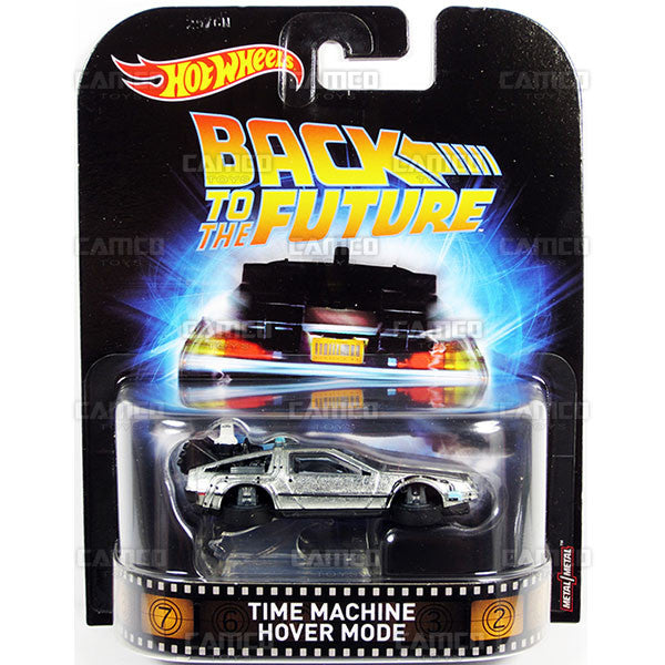 Time Machine Hover Mode (Back to the Future) - 2017 Hot Wheels Retro Entertainment A Case DMC55-956A by Mattel.