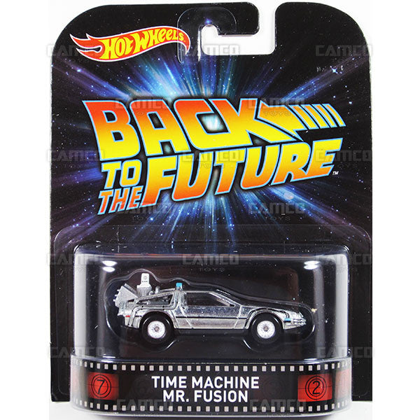 TIME MACHINE MR. FUSION (Back to the Future) - 2015 Hot Wheels Retro Entertainment H Case BDT77-996H by
