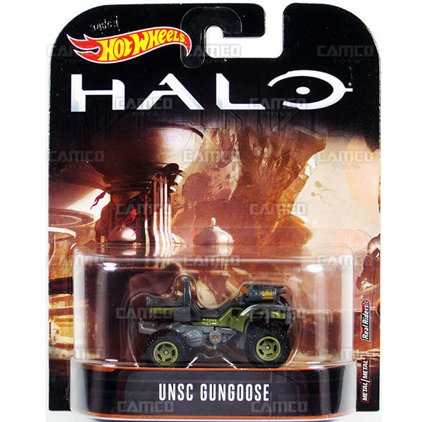 UNSC Gungoose  - 2017 Hot Wheels Retro Replica Entertainment B Case (HALO) Assortment DMC55-956B