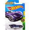 Velocita #316 purple (HW Exotics) - 2017 Hot Wheels Basic Mainline P Case assortment C4982  by Mattel.