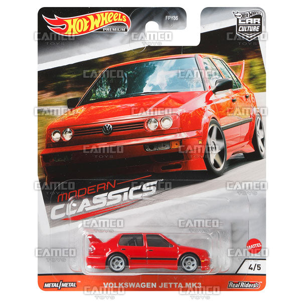 Volkswagen Jetta MK3 - 2020 Hot Wheels Premium Car Culture S Case MODERN CLASSICS Asortment FPY86-956S by Mattel.