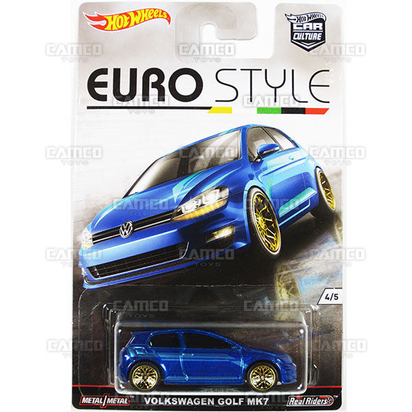 Volkswagen Golf MK7 - 2016 Hot Wheels (Euro Style)