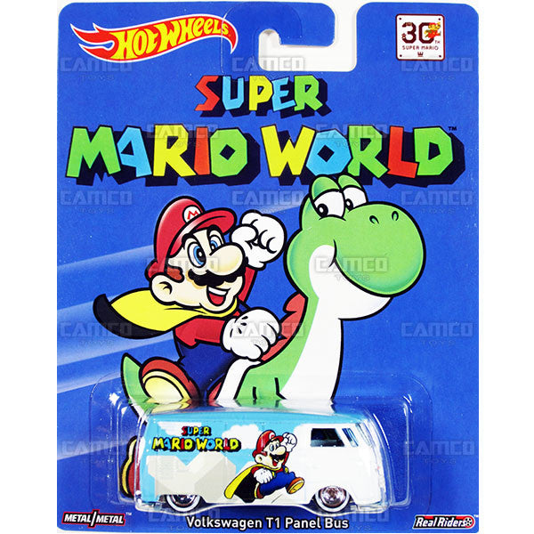 Volkswagen T1 Panel Bus (Super Mario World) - 2015 Hot Wheels Pop Culture F Case (SUPER MARIO) Assortment CFP34-956F by Mattel.