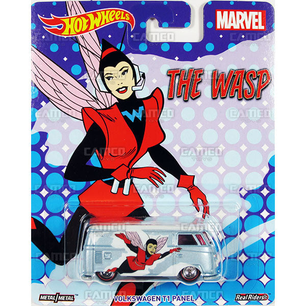 Volkswagen T1 Panel (The Wasp) - 2017 Hot Wheels Pop Culture WOMEN OF MARVEL Case J Assortment DLB45-956J