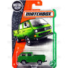 Volkswagen Transporter Cab #95 green - 2017 Matchbox G Case 30782
