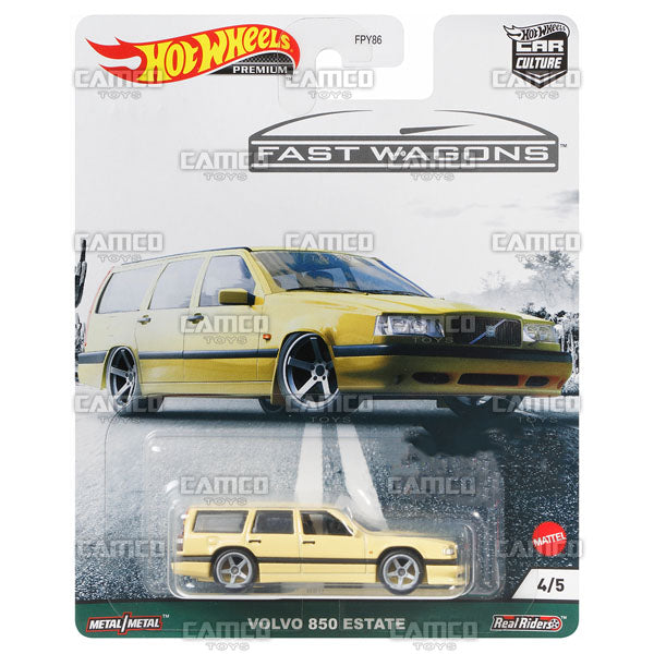 Volvo 850 Estate - 2021 Hot Wheels Car Culture Fast Wagons Case B Assortment FPY86-957B by Mattel