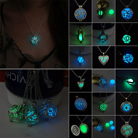 Full Line- Mystical Glow In The Dark Necklaces - Caftan Sabrina - 1