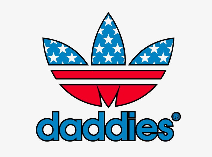 USA PROUD DADDIES S/S T-SHIRT IN BLACK