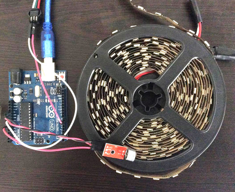 Music Reactive LED Strip -- Tutorial – Connected Cities