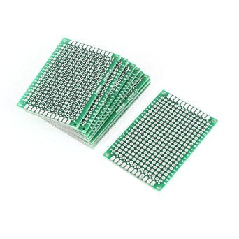 4x6cm Double Side Tinned PCB Board - Connected Cities