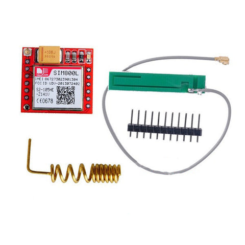 Smallest SIM800L GPRS GSM Module with Antenna - Connected Cities