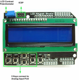LCD Keypad Shield for Arduino & LCD 1602 - Connected Cities
