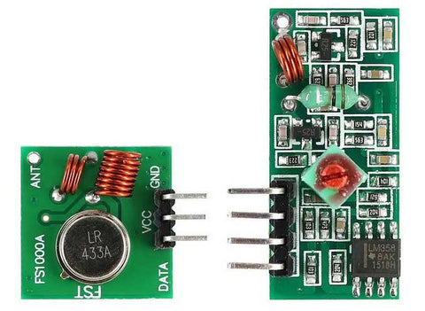 RF Wireless Receiver  Module & Transmitter Module - Connected Cities