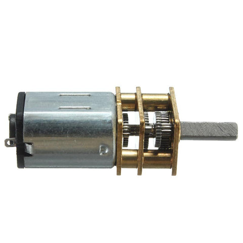 DC 6V 200RPM Mini Metal Gear Motor - Connected Cities