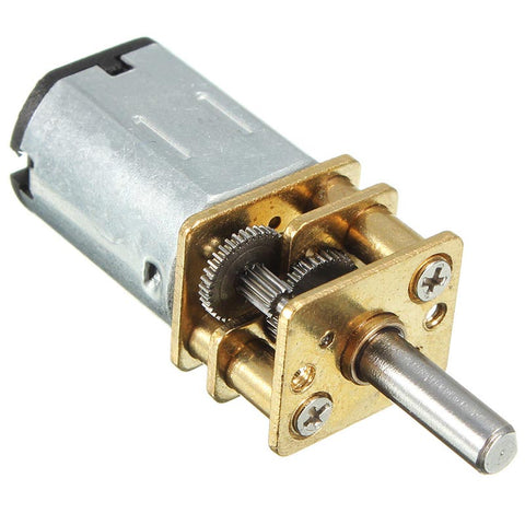 DC 12V 100RPM Mini Electric Gear Box - Connected Cities