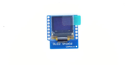 OLED shield for Wemos D1 - Connected Cities
