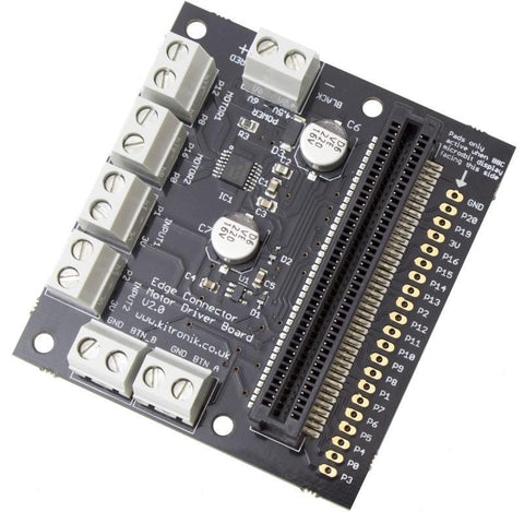 Motor Driver Board v.2 for the BBC micro:bit - Connected Cities
