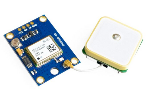 NEO-6M GPS Module NEO6MV2 with antenna - Connected Cities