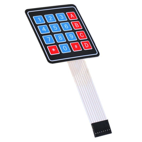 4x4 Matrix Keypad Membrane - Connected Cities