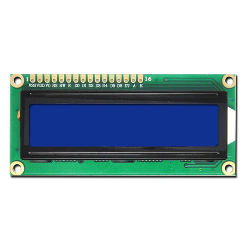 1602 Blue LCD Module - Connected Cities