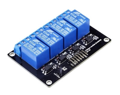 4 Channel 5V Relay Module - Connected Cities