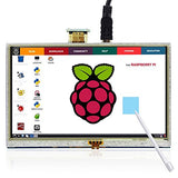 5 Inch 800x480 HDMI TFT Display for Raspberry Pi - Connected Cities