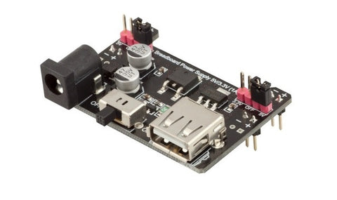Breadboard Power Supply Module 3.3V/5V for MB102 -- RobotDyn - Connected Cities