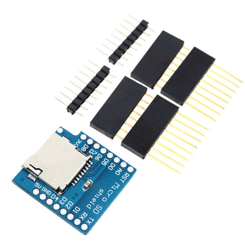 SD Storage Expansion Board for Wemos D1 Mini - Connected Cities