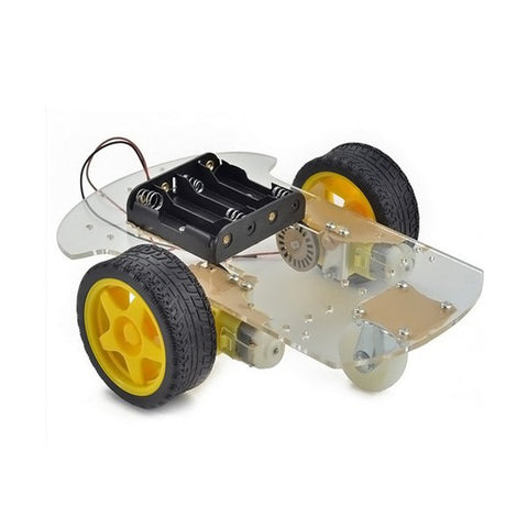 2WD Smart Robot Car Chassis DIY - Connected Cities