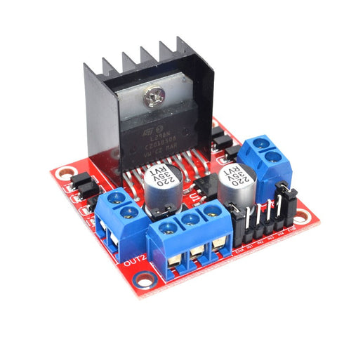 L298N DC Stepper Motor Drive Controller - Connected Cities