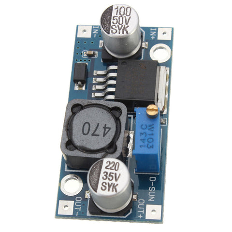 LM2596 DC-DC step-down Power Supply Module - Connected Cities
