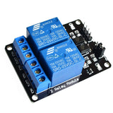 2 Channel relay modules with Optocoupler - Connected Cities